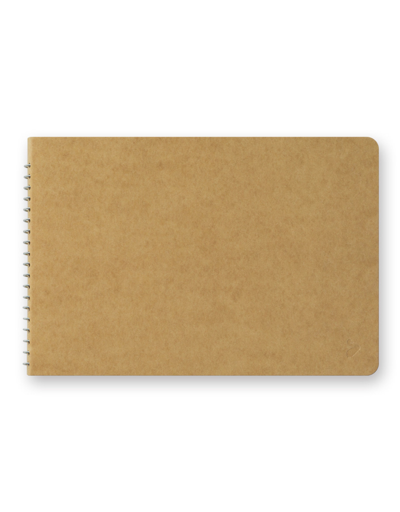 Traveler's Company SPIRAL RING NOTEBOOK B6 WATERCOLOR PAPER 20 SHEETS (40 PAGES)