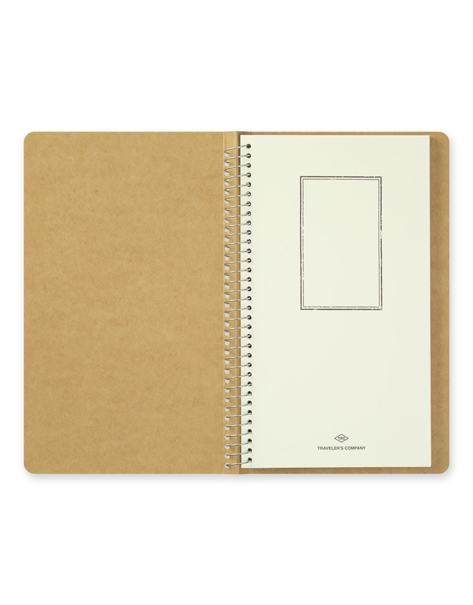 Traveler's Company SPIRAL RING NOTEBOOK A5 SLIM WATERCOLOR PAPER 20 SHEETS (40 PAGES)