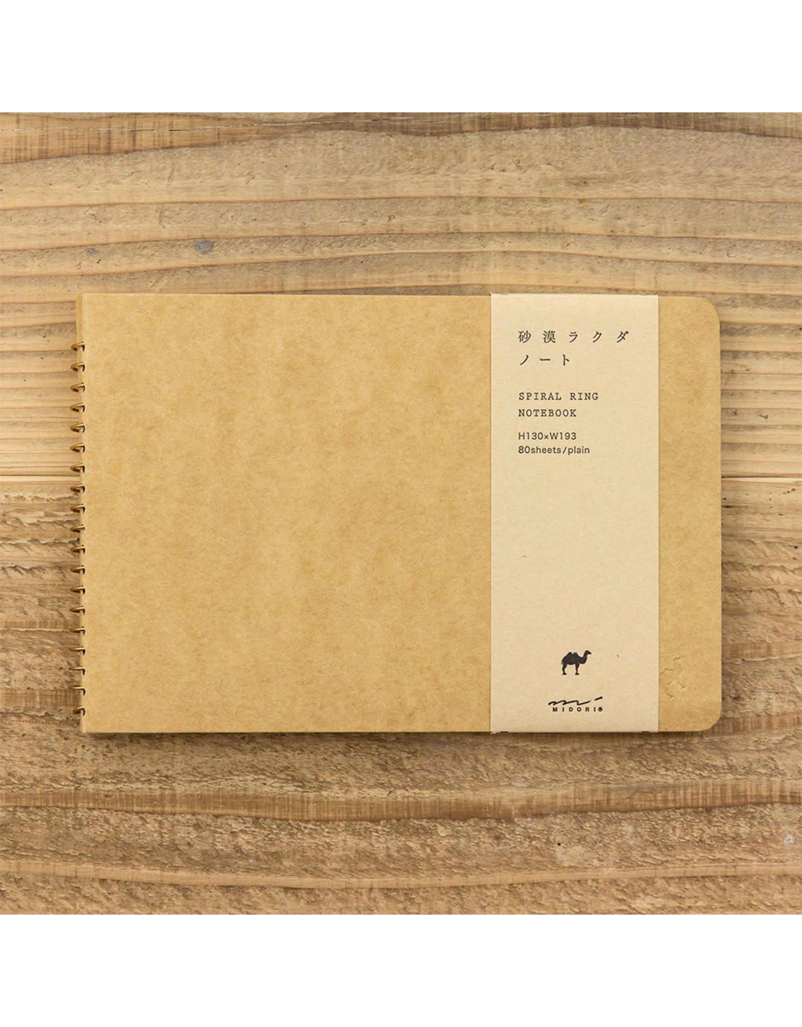 Designphil Inc. SPIRAL RING NOTEBOOK BLANK RAKUDA