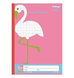 Kyokuto Associates co., ltd. KYOKUTO  GRID NOTEBOOK - FLAMINGO LT01P