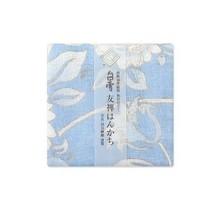 Shirayuki Fukin Co., Ltd. - SHIRAYUKI FUKIN HANDKERCHIEF 30cm x 30 cm HIMAWARI BLUE