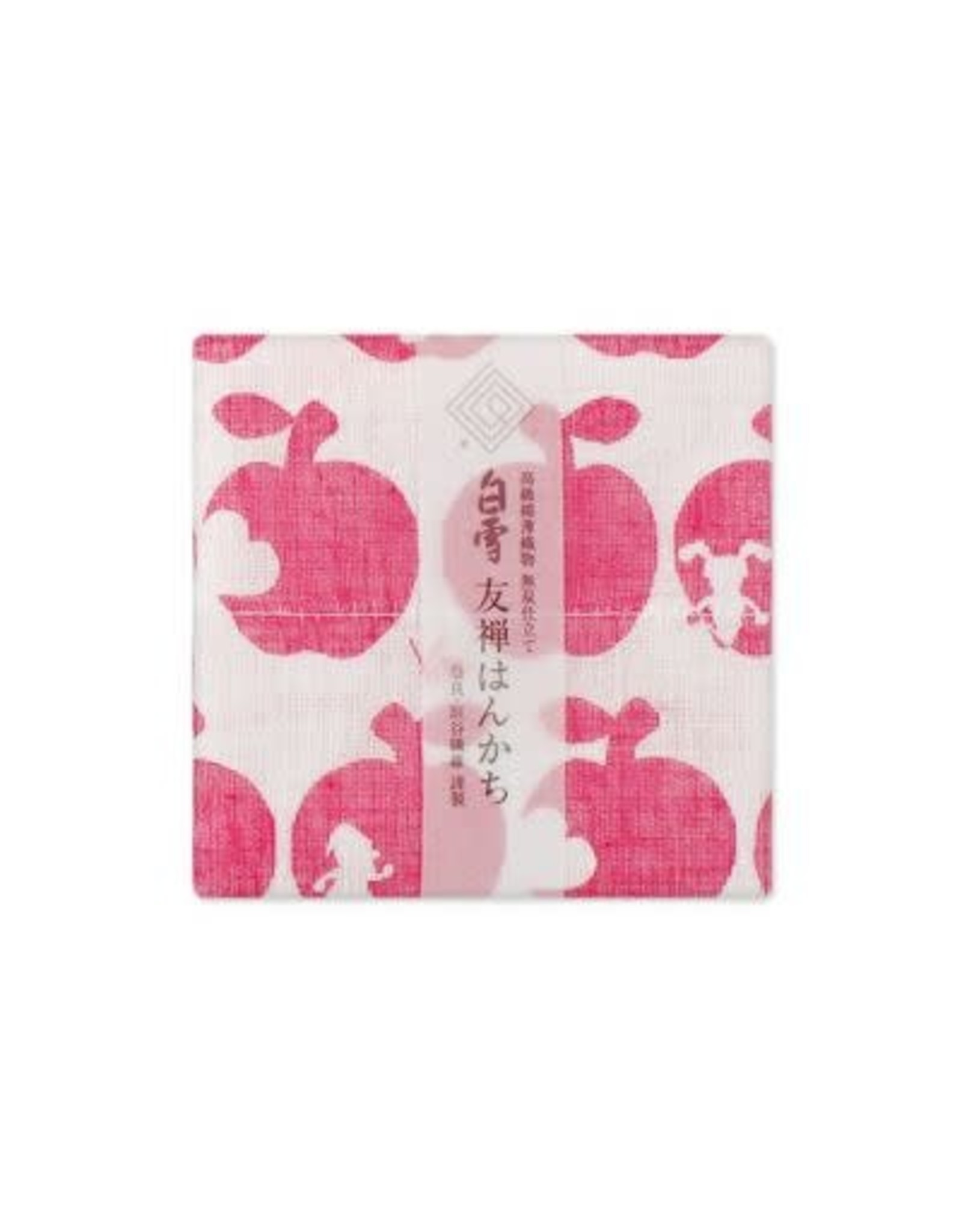 Shirayuki Fukin Co., Ltd. SHIRAYUKI FUKIN HANDKERCHIEF 30cm x 30 cm SHIRAYUKIHIME RED