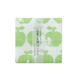 Shirayuki Fukin Co., Ltd. SHIRAYUKI FUKIN HANDKERCHIEF 30cm x 30 cm HANDKERCHIEF 30cm x 30 cm SHIRAYUKIHIME GREEN