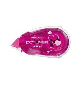 KOKUYO TAPE GLUE DOTLINER HEART 8.4MM