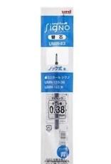 Mitsubishi Pencil Co., Ltd. UNI-BALL SIGNO REFILL BLUE 0.38 MM UMR-83