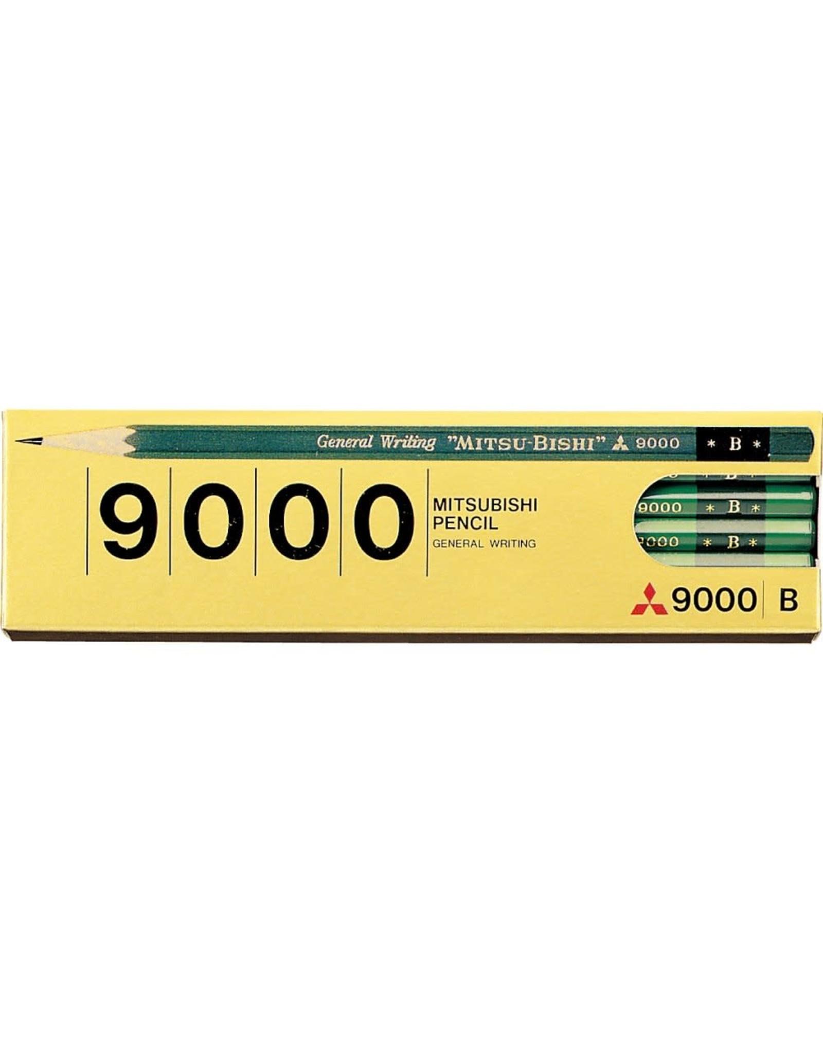 Mitsubishi Pencil Co., Ltd. GENERAL WRITING ''MITSU-BISHI'' 9000 B 12 PCS SET