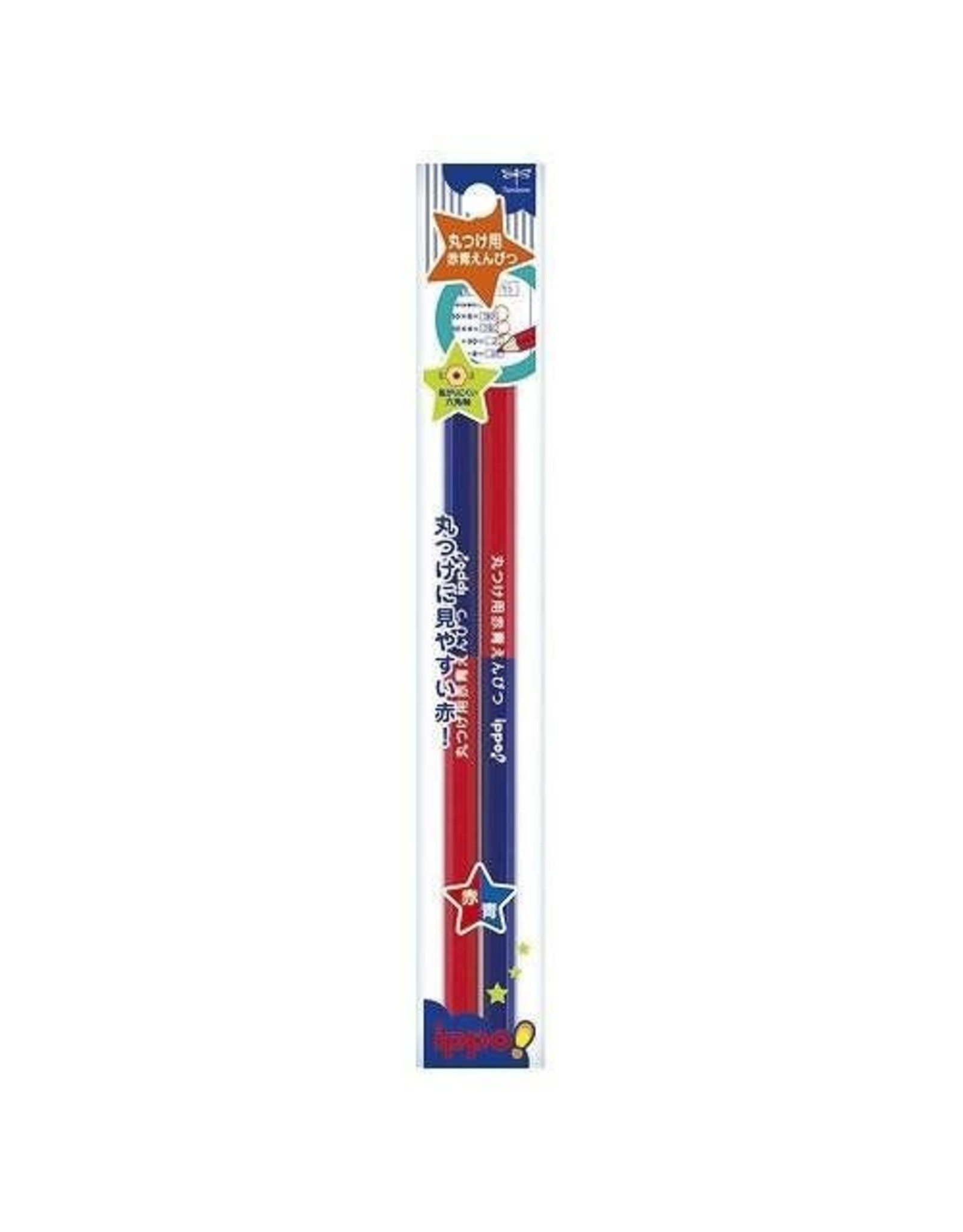 Tombow TOMBOW IPPO! RED BLUE PENCIL