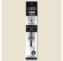 Mitsubishi Pencil Co., Ltd. UMR-1-05 UNI-BALL SIGNO REFILL BLACK 0.5 MM UMR-1