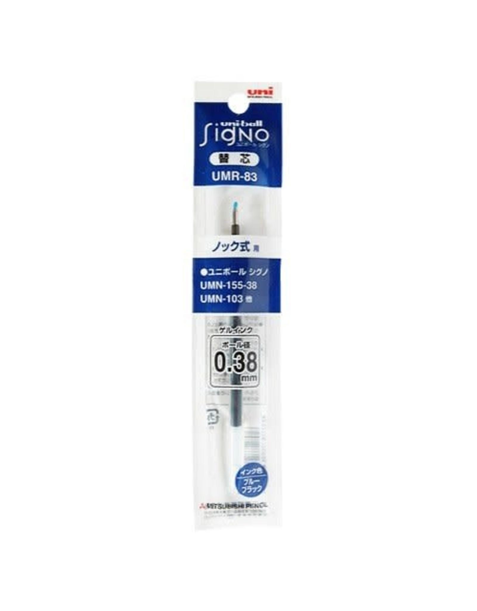 Mitsubishi Pencil Co., Ltd. UNI-BALL SIGNON REFILL BLUE BLACK UMR-1