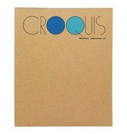 MARUMAN CROQUIS 100SHEETS BLUE SM-02