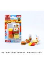 IWAKO IWAKO UNIQUE ERASER BLISTER PACK FAST FOOD