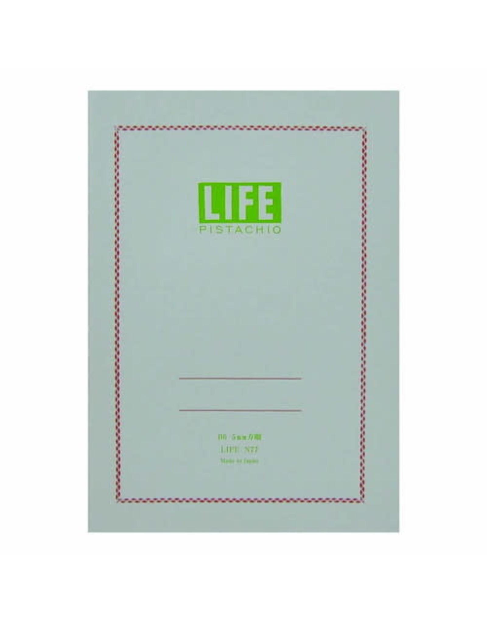 LIFE CO.,LTD. PISTACHIO B6 GRID 32 PAGES N77
