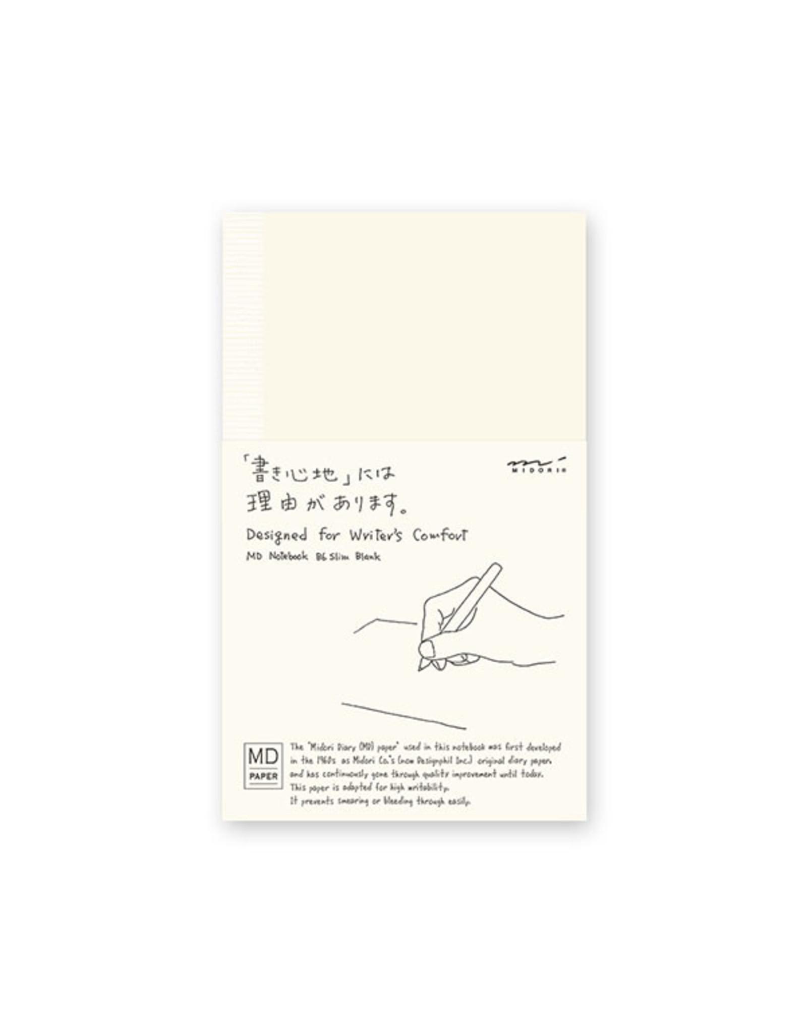 Designphil Inc. MD COTTON NOTEBOOK B6 SLIM