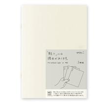 Designphil Inc. 15213006 MD NOTEBOOK LIGHT  LINED 3PCS PACK A5