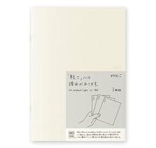Designphil Inc. - MD NOTEBOOK LIGHT  LINED 3PCS PACK A5
