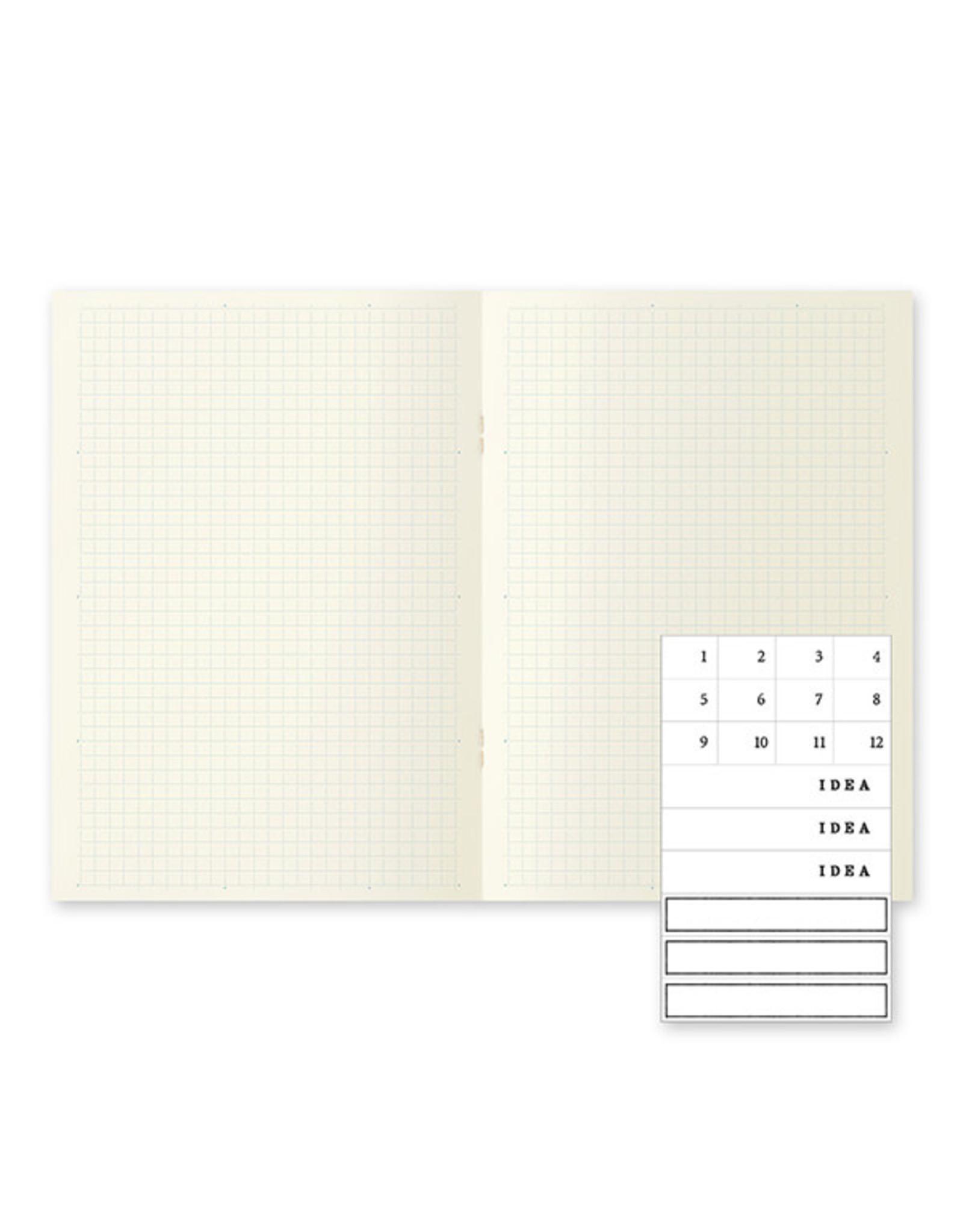 Designphil Inc. MD NOTEBOOK LIGHT A5 GRID