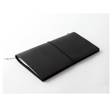 Traveler's Company - TRAVELER'S NOTEBOOK REGULAR SIZE BLACK