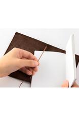 Traveler's Company TRAVELER'S NOTEBOOK PASSPORT SIZE BROWN