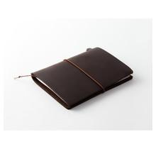 Traveler's Company 15027006 TRAVELER'S NOTEBOOK PASSPORT SIZE BROWN