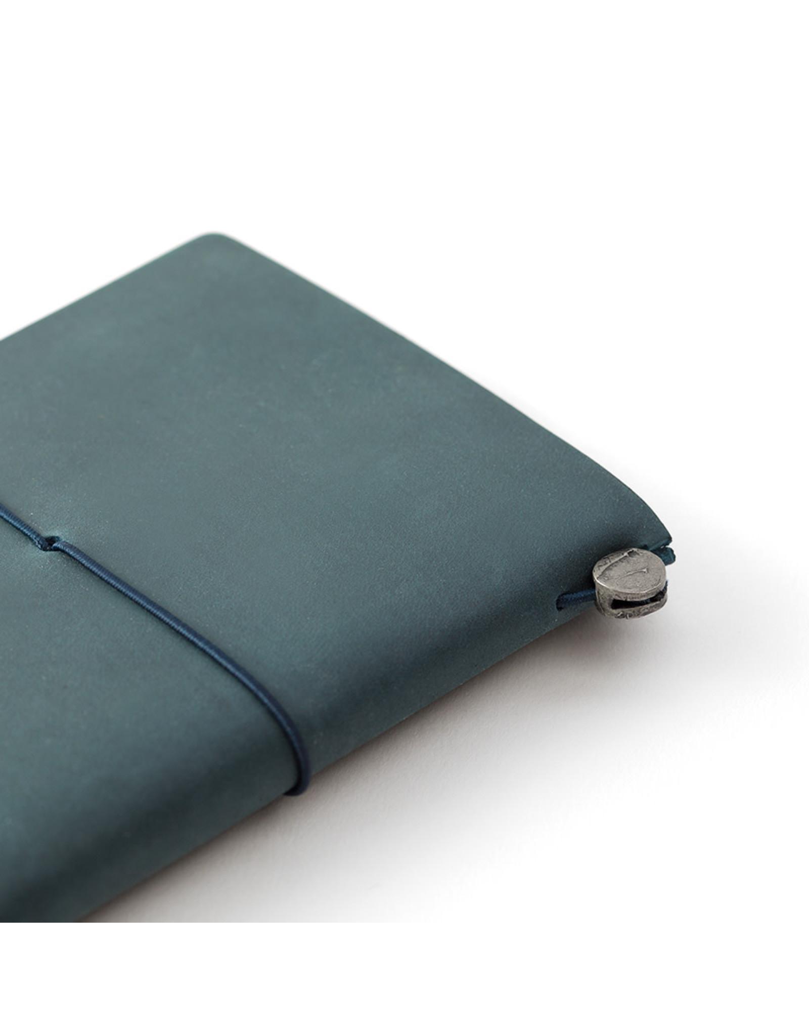 Traveler's Company TRAVELER'S NOTEBOOK PASSPORT SIZE BLUE