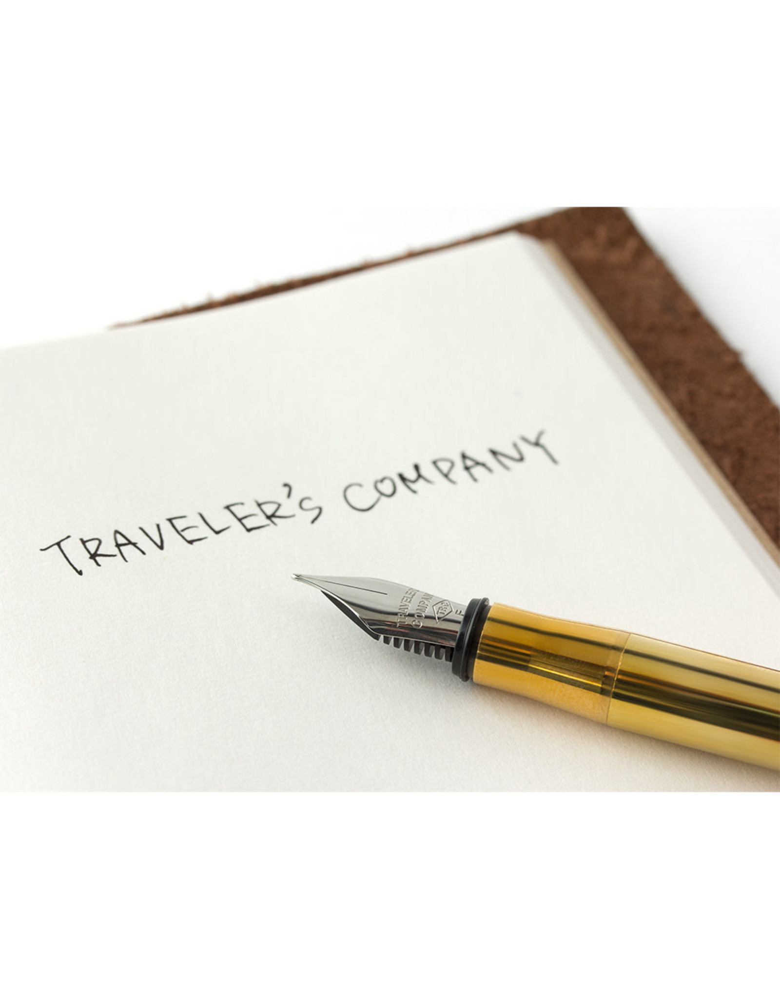 Traveler's Company TRC BRASS FOUNTAIN PEN SOLID BRASS