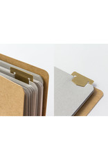 Traveler's Company BRASS TEMPLATE BOOKMARK NUMBER