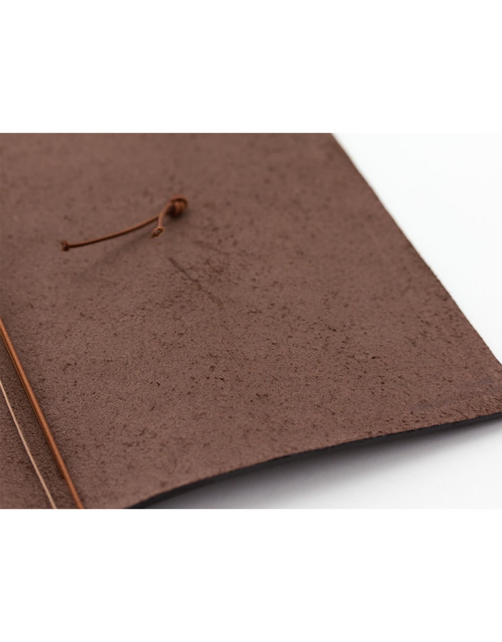 Traveler's Company TRAVELER'S NOTEBOOK REGULAR SIZE BROWN