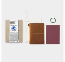 Traveler's Company - TRAVELER'S NOTEBOOK PASSPORT SIZE CAMEL