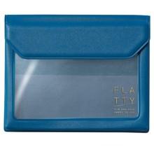 KING JIM CO., LTD. - FLATTY CARD DARK BLUE