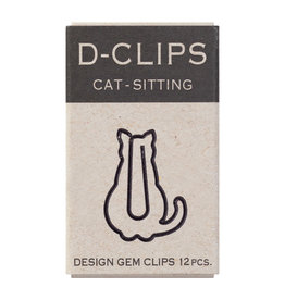 Designphil Inc. D-CLIPS MINI BOX  CAT-SITTING