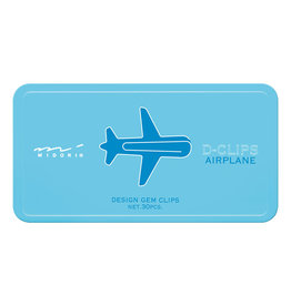 Designphil Inc. D-CLIPS AIRPLANE