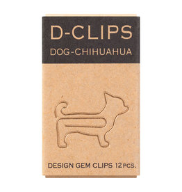 Designphil Inc. D-CLIPS MINI BOX  DOG-CHIHAUAHUA