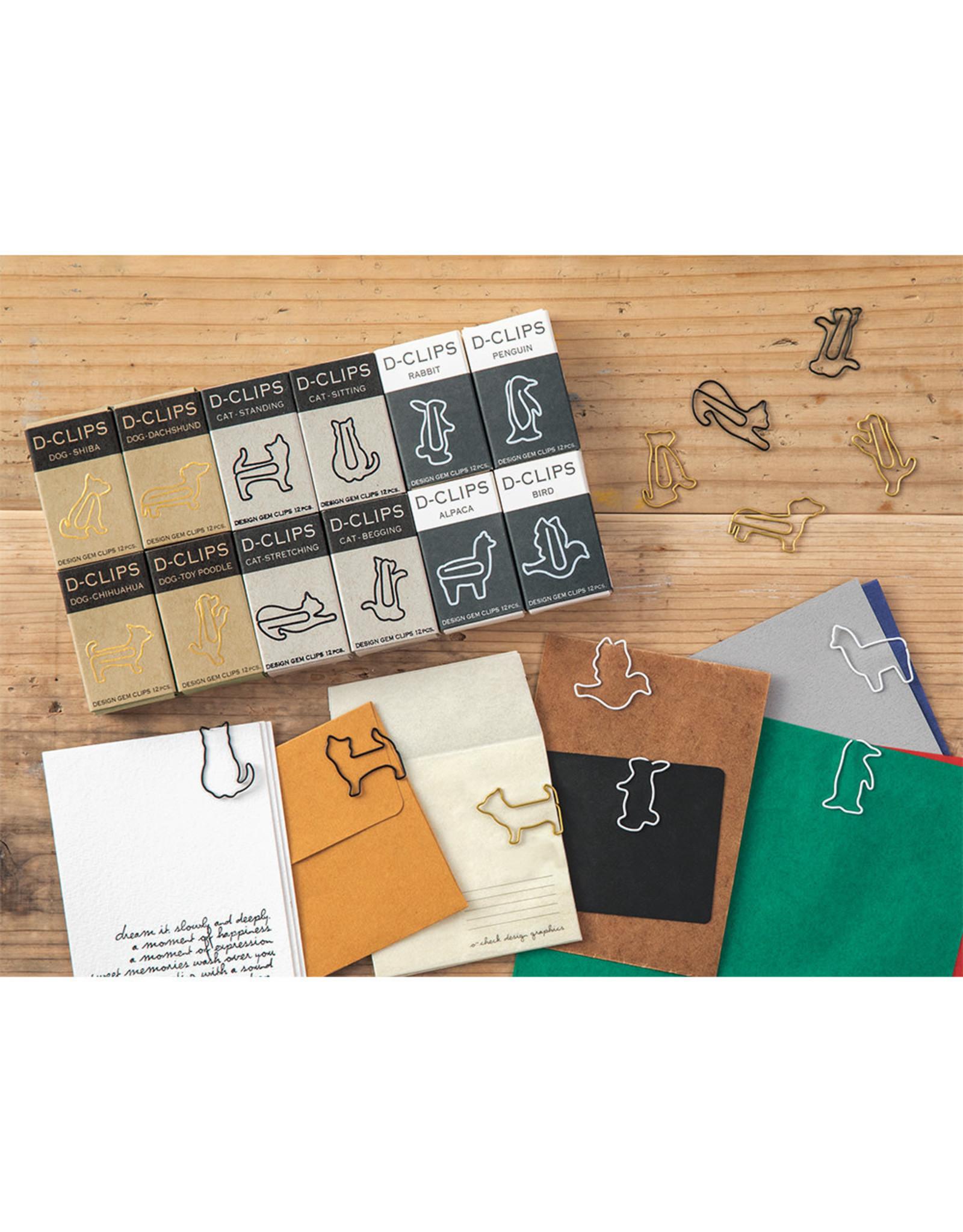 Designphil Inc. D-CLIPS MINI BOX CAT-STANDING