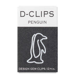 Designphil Inc. D-CLIPS MINI BOX  PENGUIN