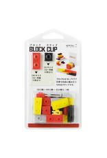 Designphil Inc. BLOCK CLIP RED