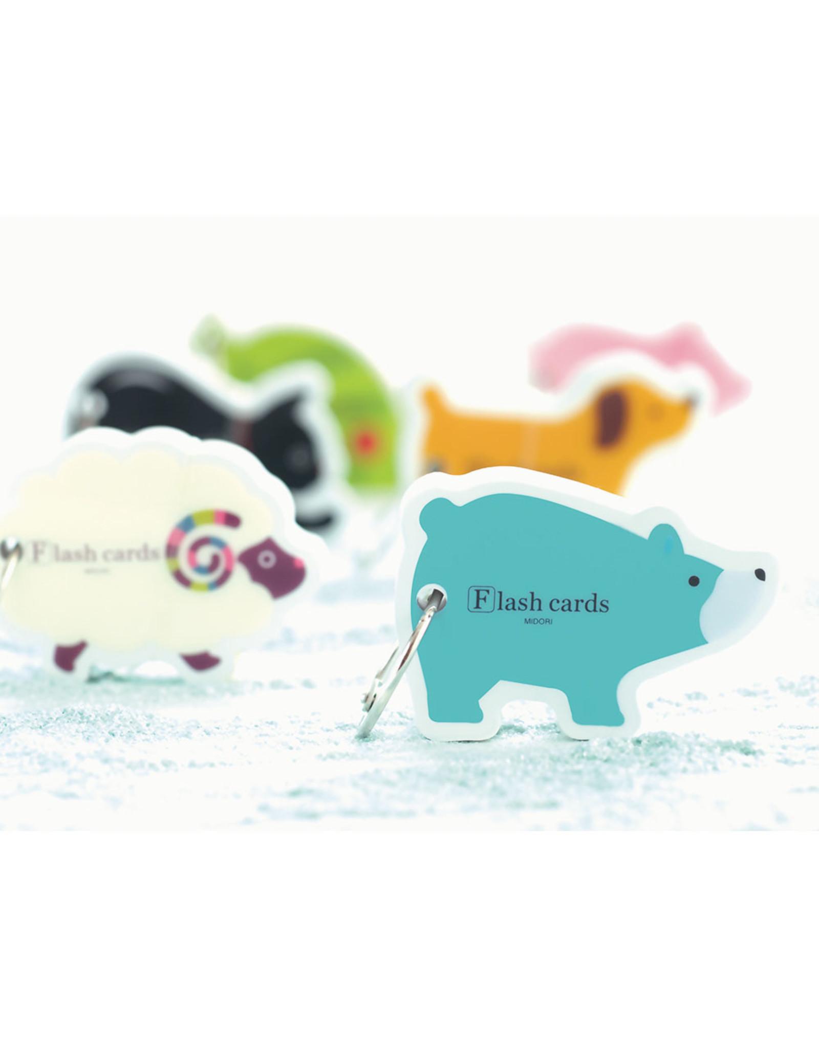 Designphil Inc. MIDORI FLASH CARD PIG (WORD CARD)