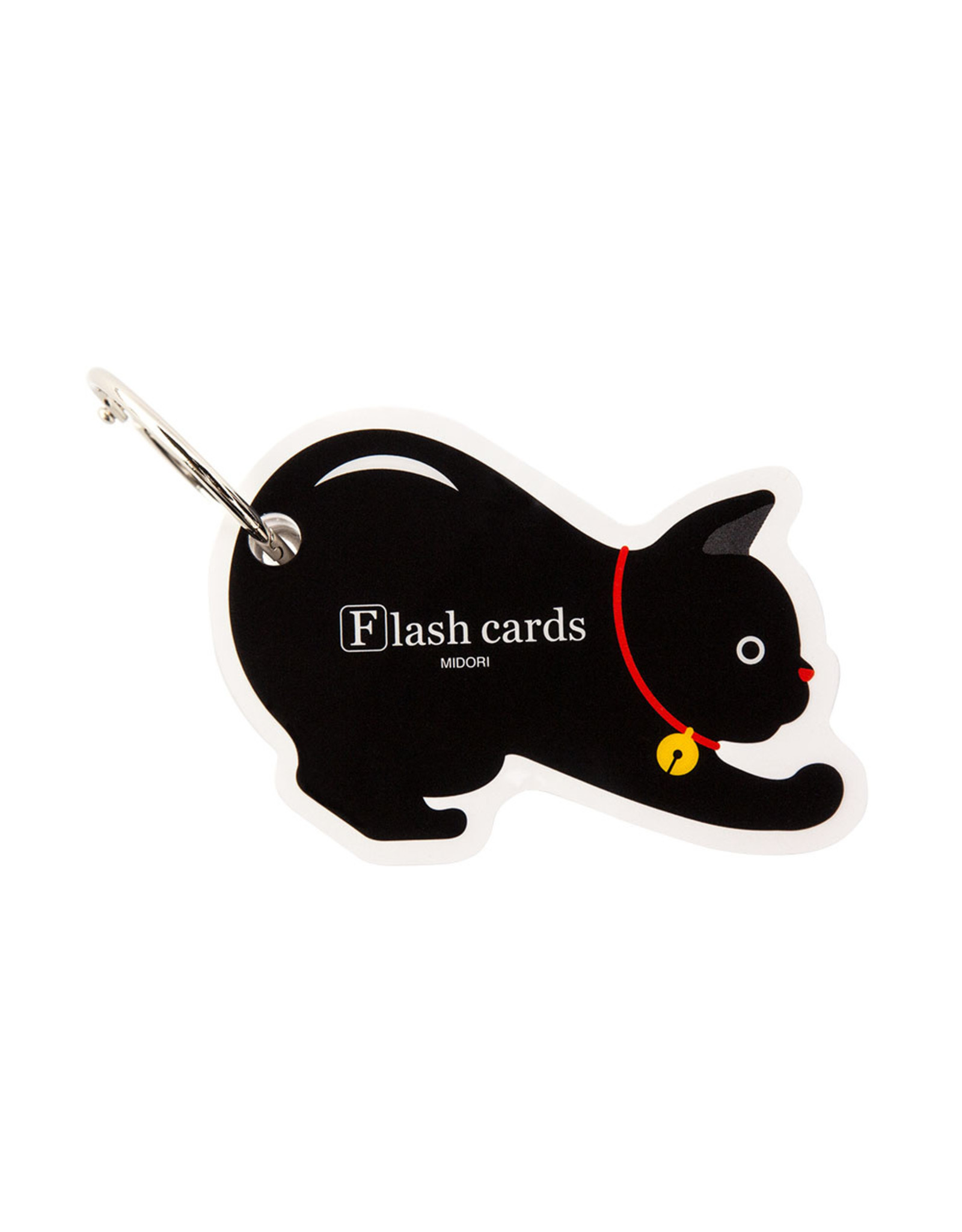 Designphil Inc. MIDORI FLASH CARD CAT (WORD CARD)
