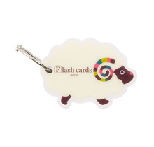 Designphil Inc. 34179-006 MIDORI FLASH CARD SHEEP (WORD CARD)