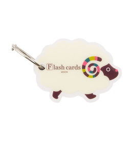 Designphil Inc. MIDORI FLASH CARD SHEEP (WORD CARD)