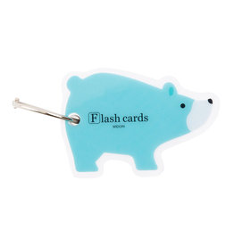 Designphil Inc. MIDORI FLASH CARD BEAR (WORD CARD)