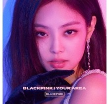 [CD]BLACKPINK IN YOUR AREA   [LIMITED/JENNIE VER./STICKER ]