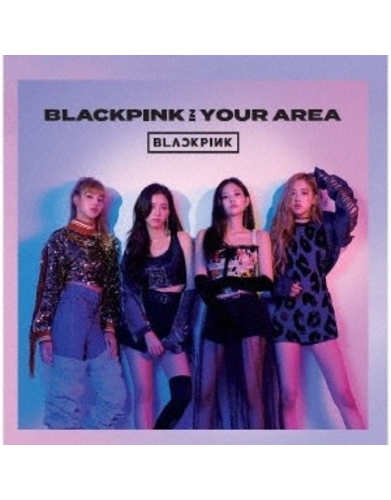 AVEX [CD]BLACKPINK IN YOUR AREA [TRADING CARD FOR 1ST PRESSING ]