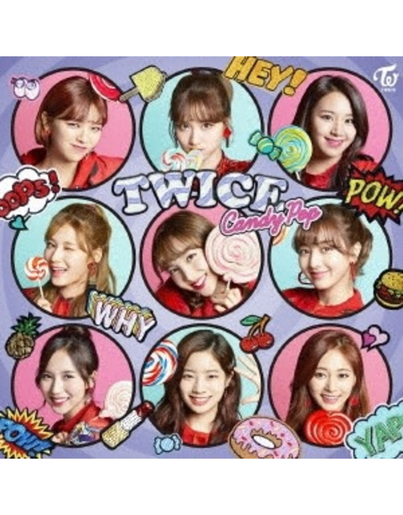 WP [CD]CANDY POP  [TRADING CARD FOR 1ST PRESSING ]