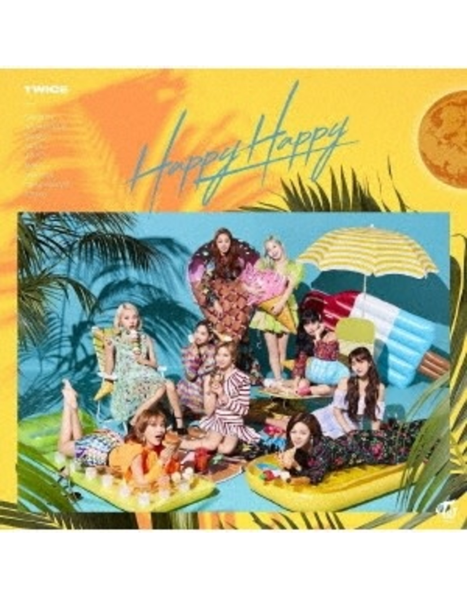 WP [CD]HAPPY HAPPY  [TRADING CARD FOR 1ST PRESSING ]