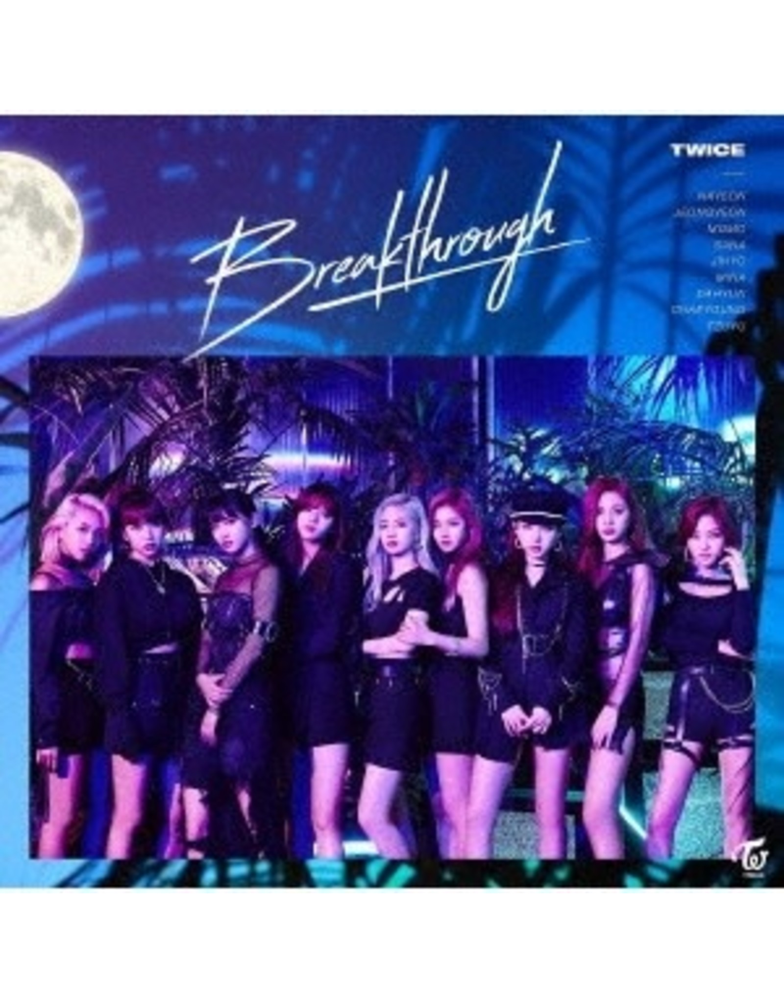 WP [CD]BREAKTHROUGH [TRADING CARD FOR 1ST PRESSING ]