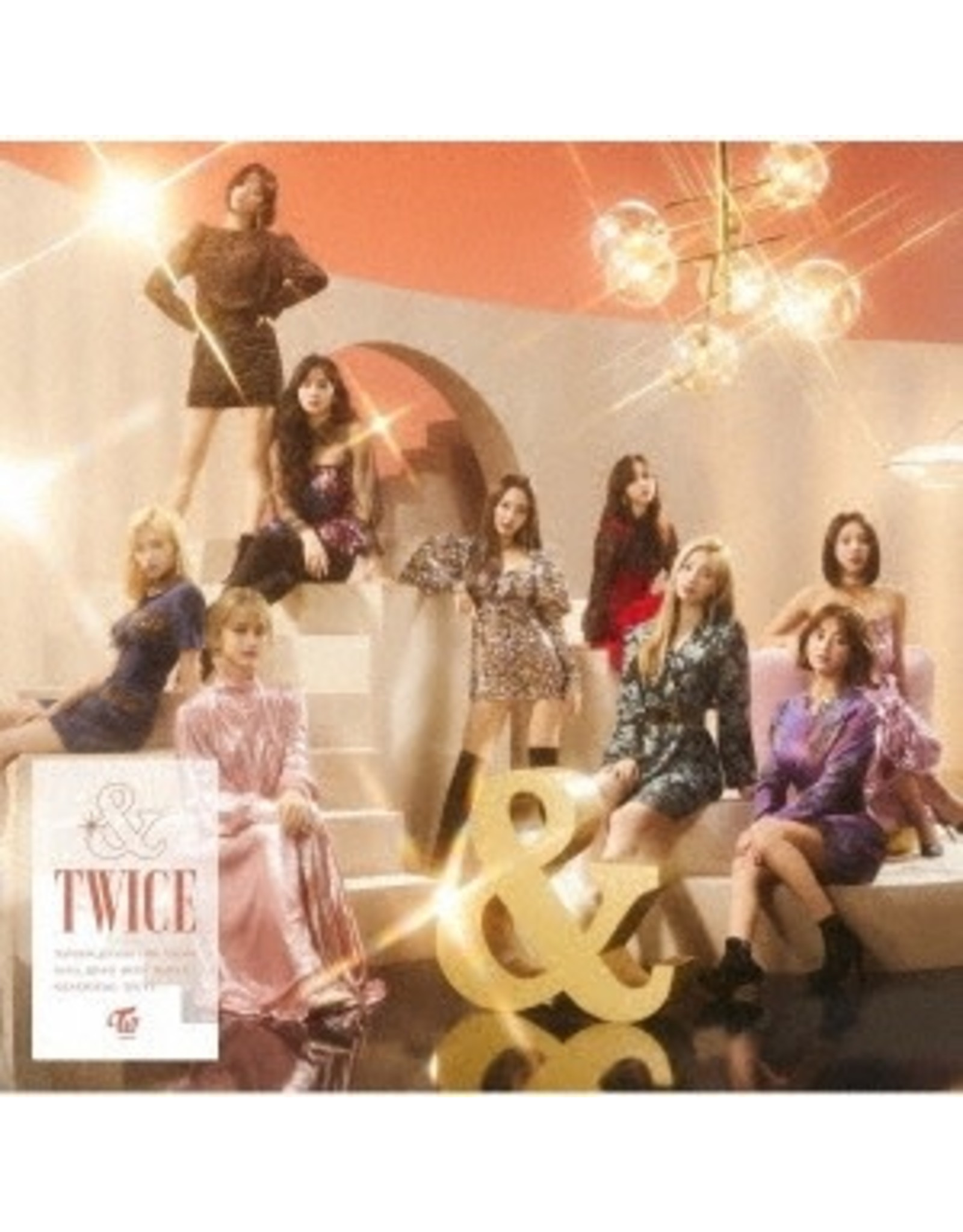CBS [CD]&TWICE [TRADING CARD FOR 1ST PRESSING ]