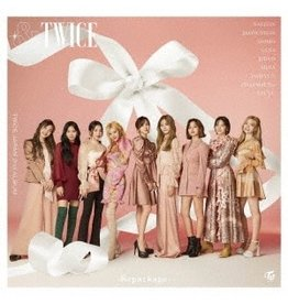 CBS [CD]&TWICE-REPACKAGE-  [TRADING CARD FOR 1ST PRESSING ]