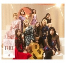 [CD]&TWICE  [LIMITED-A/CD+DVD/SLEEVE CASE/TRADING CARD ]