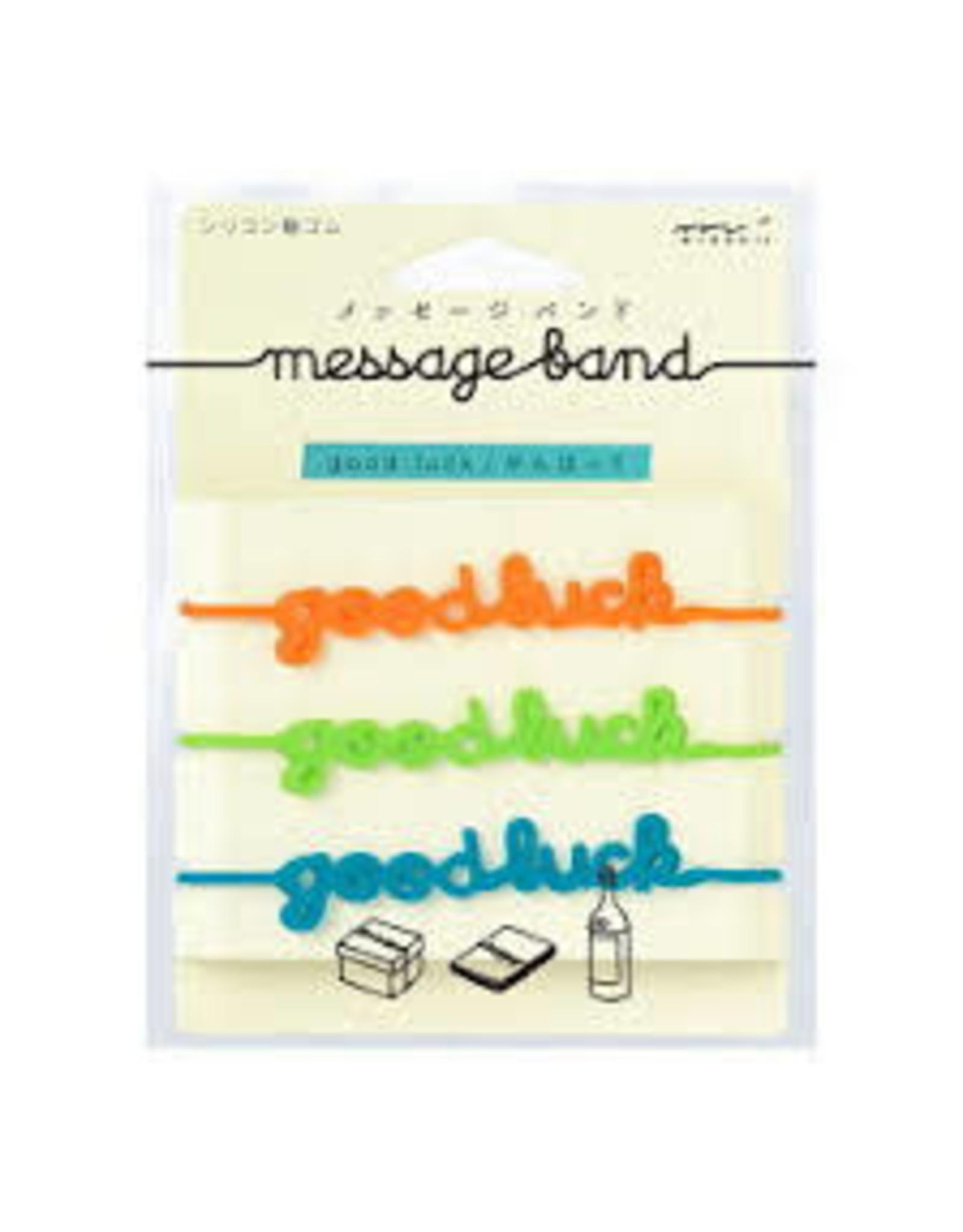 Designphil Inc. MESSAGE BAND GOOD LUCK