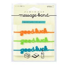 Designphil Inc. - MESSAGE BAND GOOD LUCK